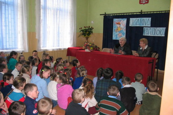 Aktualnosci Spotkania Autorskie Joanna Papuzińska
